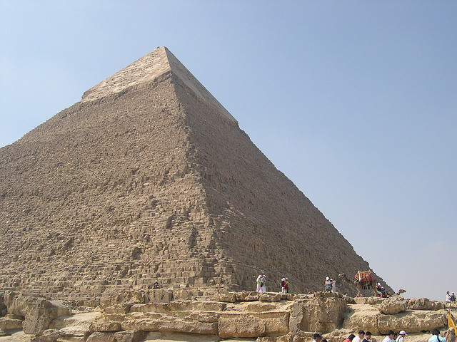 The great pyramids of egypt were masterpieces, carefully planned