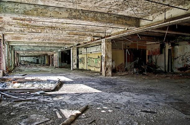 Abandoned Detroit factory