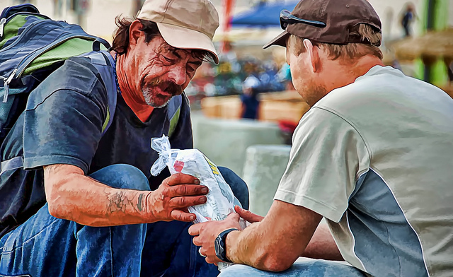 Image result for caring for the poor